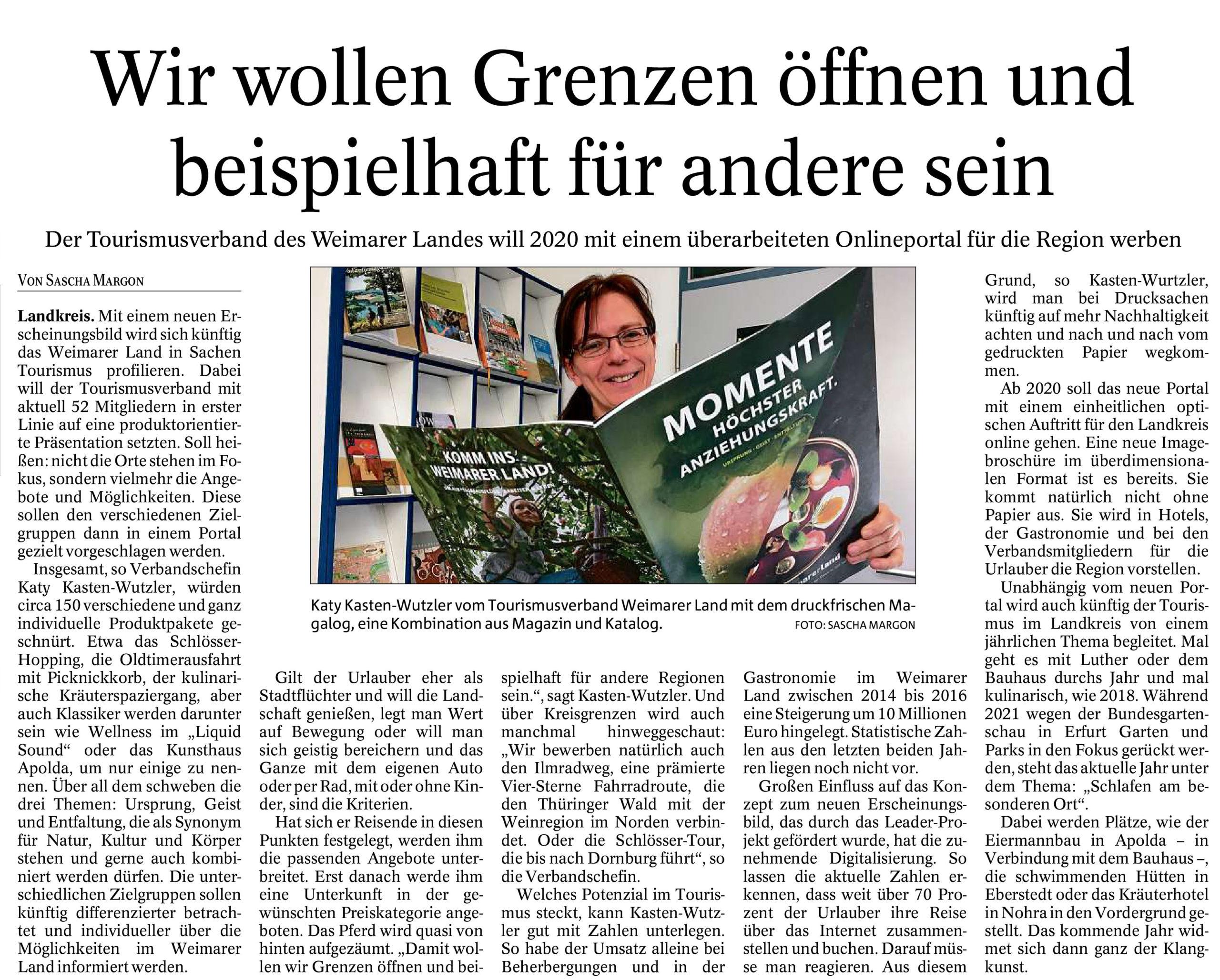 Amtsblatt Weimarer Land