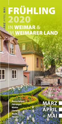 """Vorschaubild für den Gastgeber Katalog """"Gastgeber in Weimar und Weimarer Land"""
