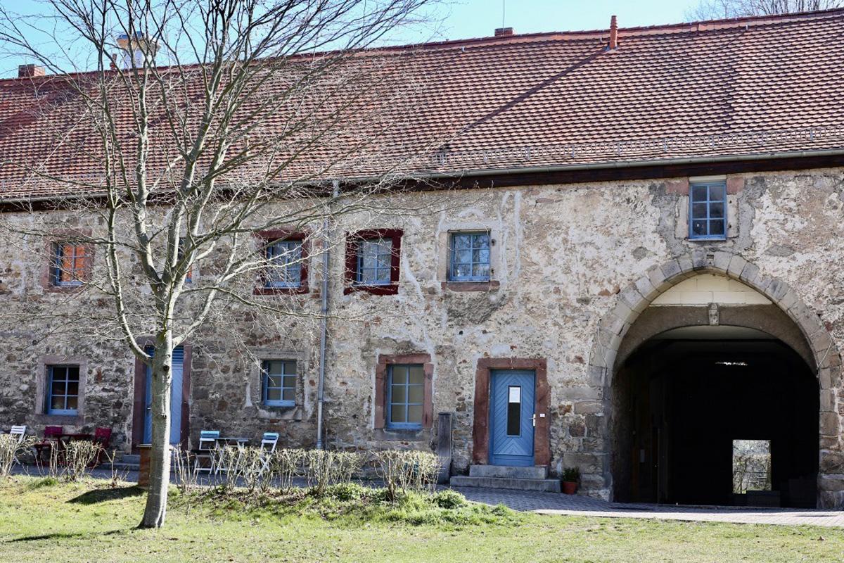 Detailansicht der Burg Tannroda | Foto: Petra Hermann