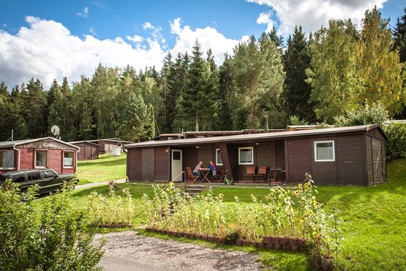 Campingplatz Stausee Hohenfelden Familienbungalow