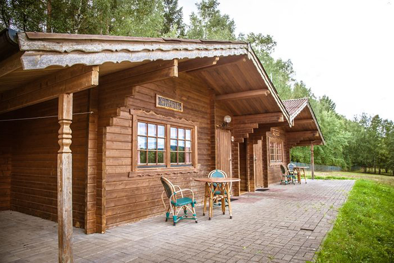 Campingplatz Stausee Hohenfelden Ferienhaus Typ Salzberger