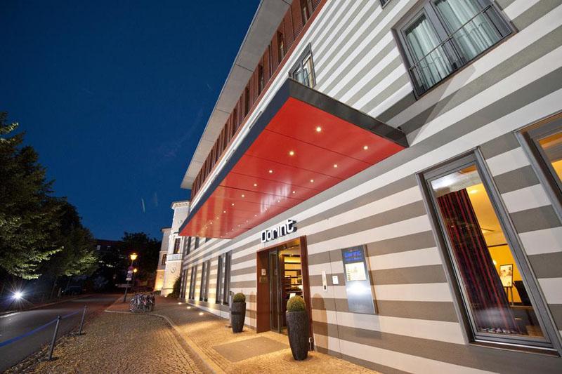 Hotel Dorint am Goethepark Weimar eingang