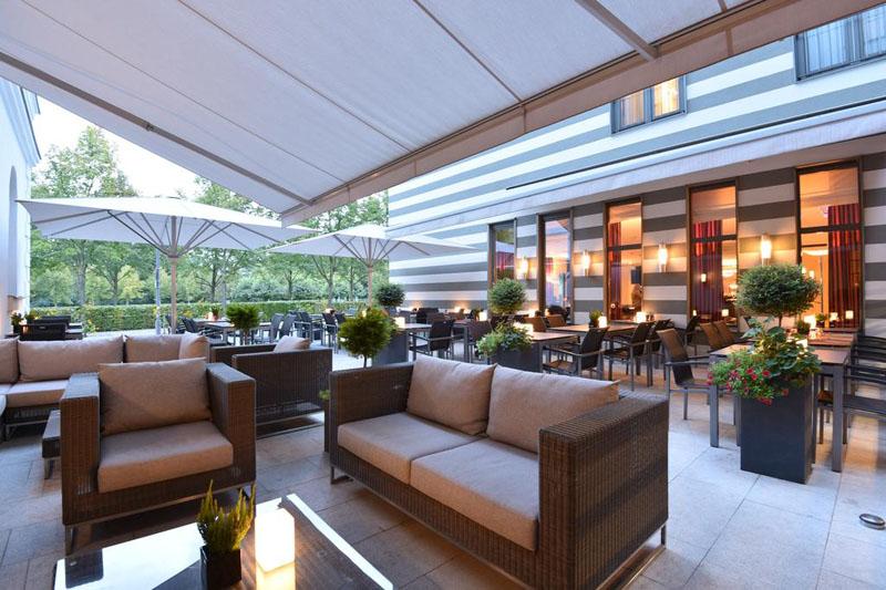 Hotel Dorint am Goethepark Weimar Lounge