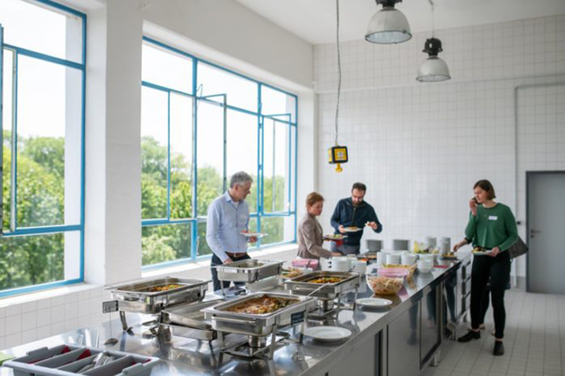Eiermannbau Apolda Tagungsstatt Catering