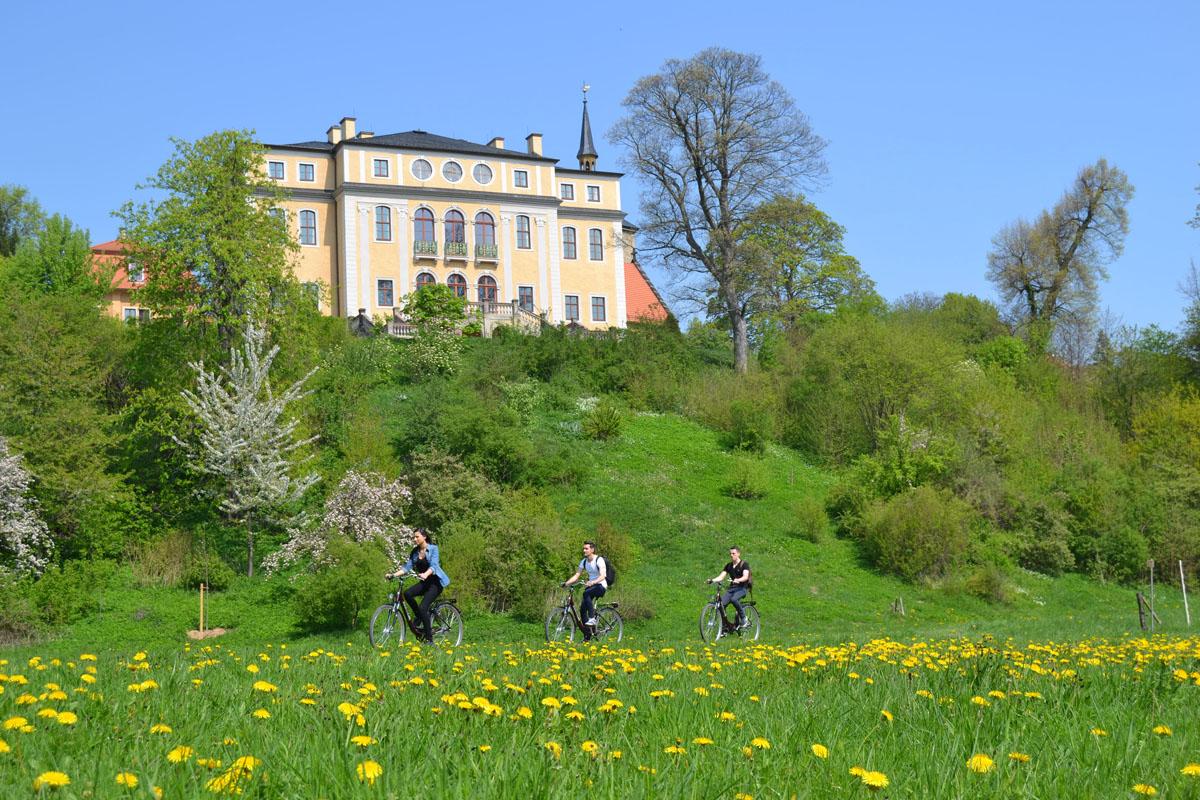 schloss ettersburg fahrrad fahren radweg