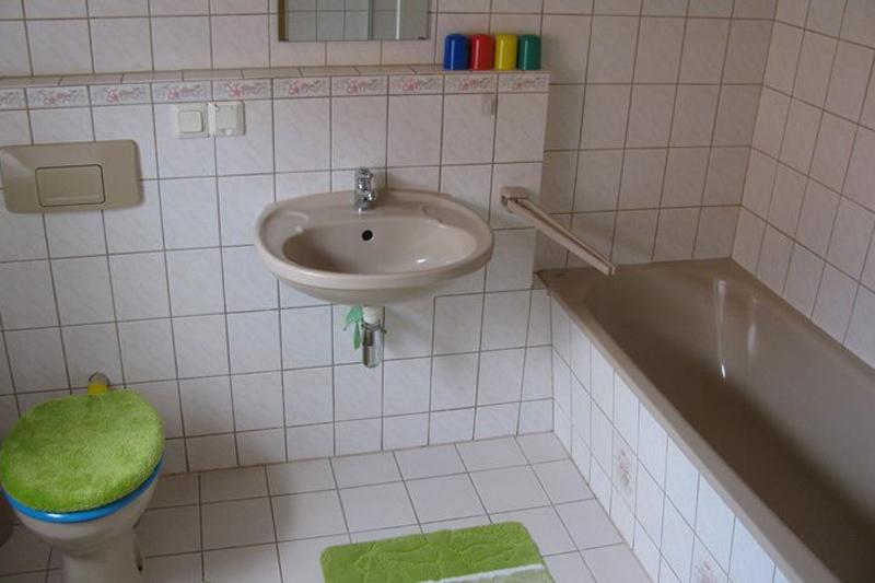 Ferienwohnung Köhler Badezimmer