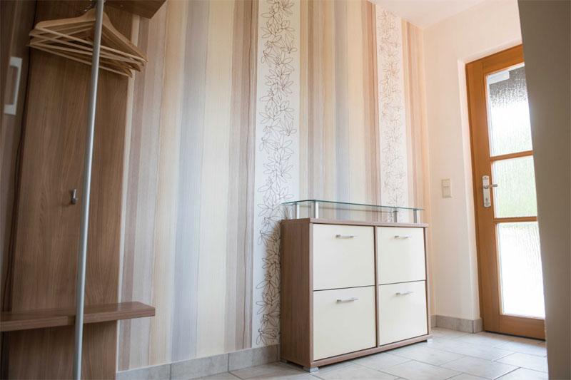 Ferienwohnung am Schenkgarten Kromsdorf Wohnung 1 Flur