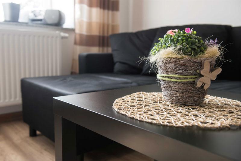 Ferienwohnung am Schenkgarten Kromsdorf Wohnung 1 Wohnzimmer