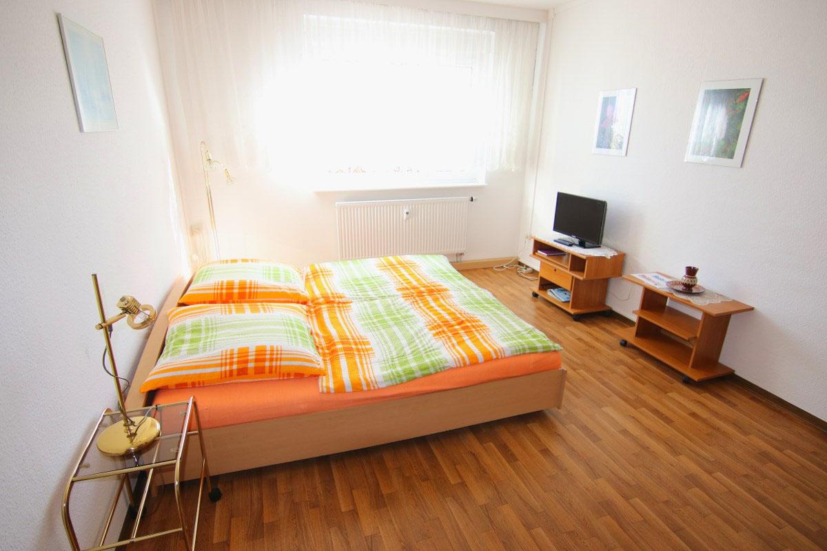 Gästewohnung WGA Schlafzimmer