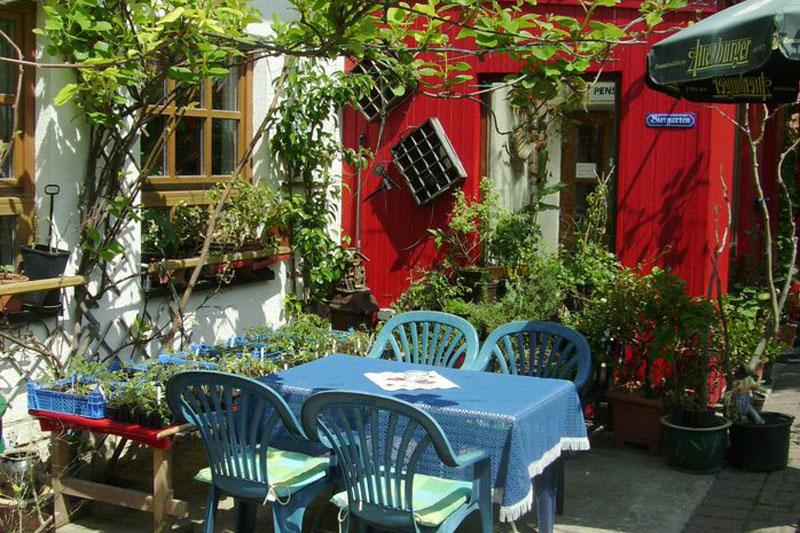 Gasthaus & Pension Bärenhügel Restaurant Garten