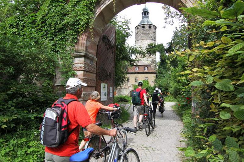 Schloss Tonndorf macht einen imposanten Eindruck, ist aber nicht immer zu besichtigen.