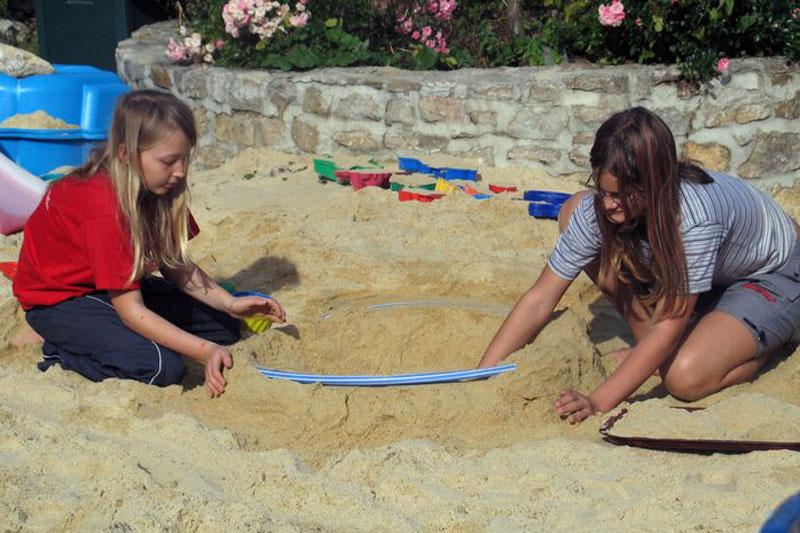 Gutshof Großheringen Pension Ferienwohnung Ferienhaus Kinderspielplatz