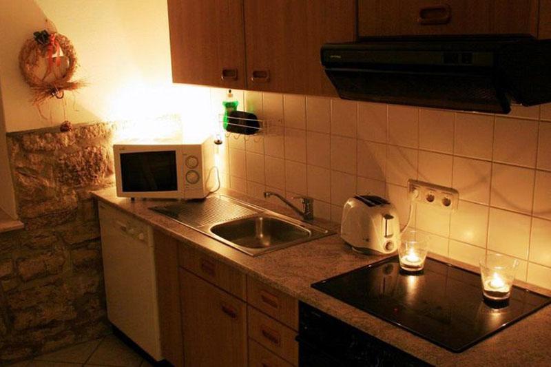 Gutshof Großheringen Pension Ferienwohnung Ferienhaus Küche