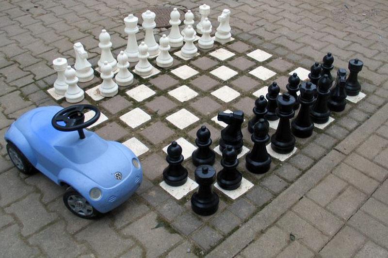 Gutshof Großheringen Pension Ferienwohnung Ferienhaus Schachspielplatz
