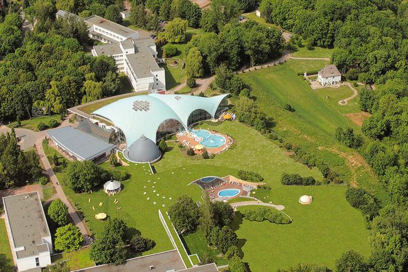 Hotel an der Therme Toskanaworld Luftbild