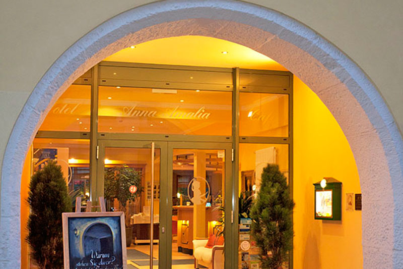 Hotel Anna Amalia Weimar Hoteleingang