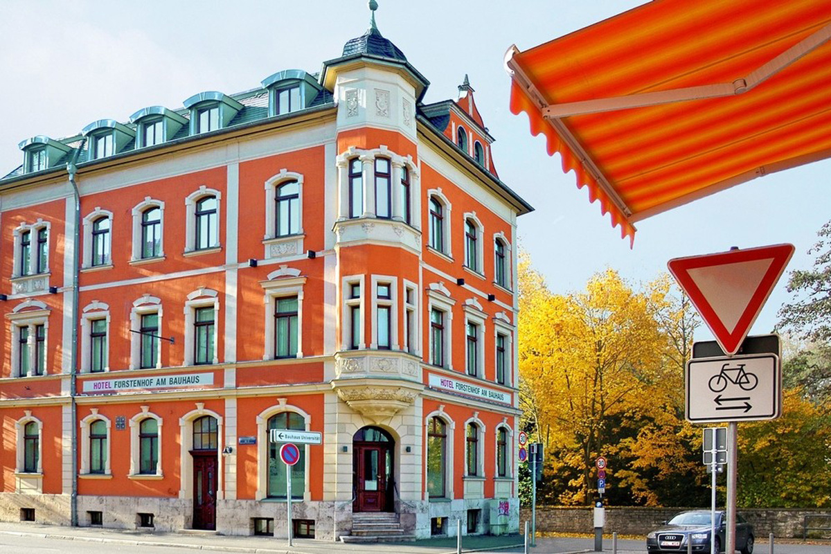 Hotel Fürstenhof am Bauhaus Weimar Außenansicht
