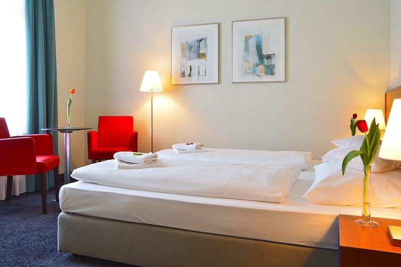 Hotel Fürstenhof am Bauhaus Weimar Doppelzimmer