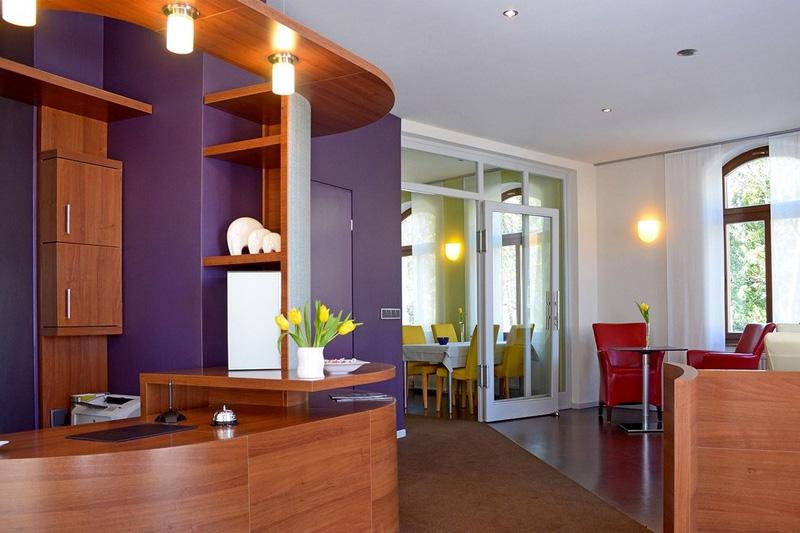 Hotel Fürstenhof am Bauhaus Weimar Rezeption