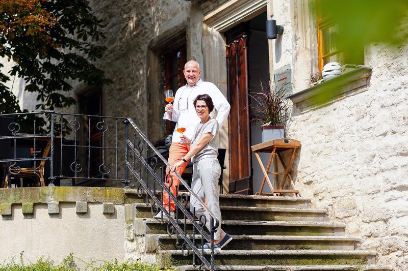 Hotel Resort Schloss Auerstedt terrasse