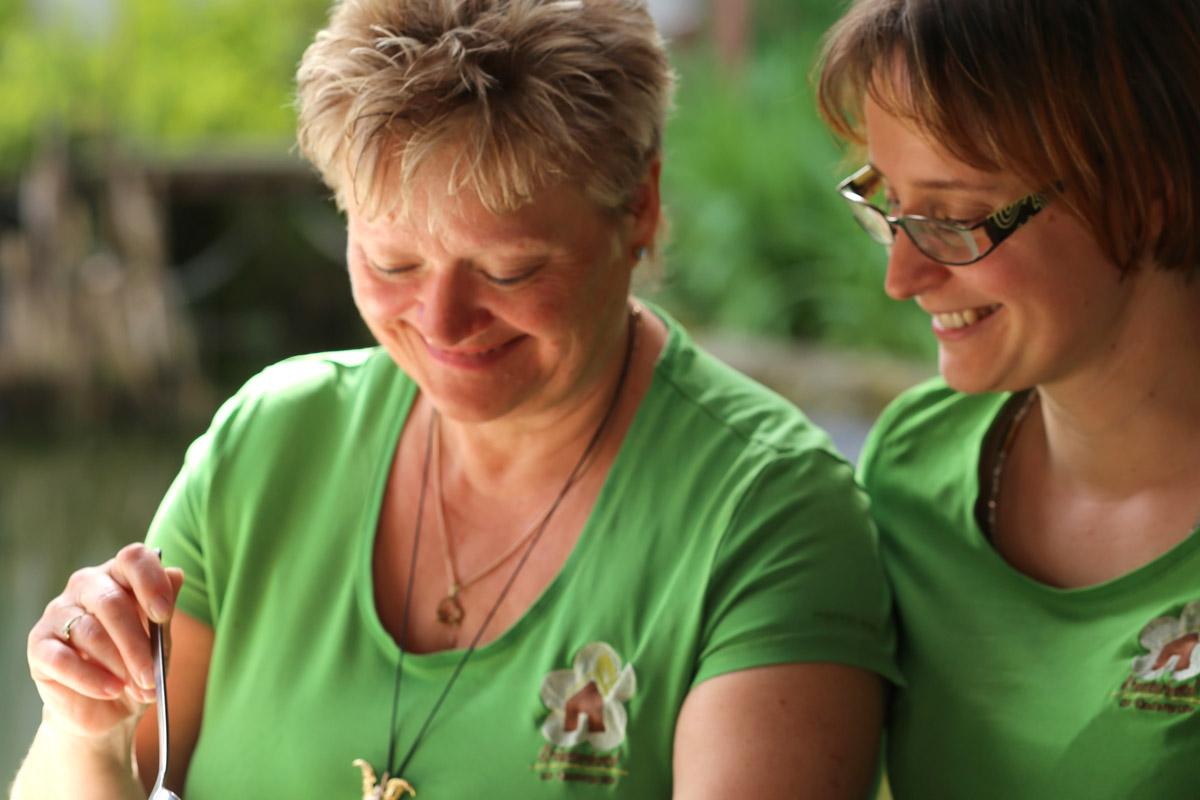 Jessica Greulich-Lindner und ihre Mutter Angelika Lindner