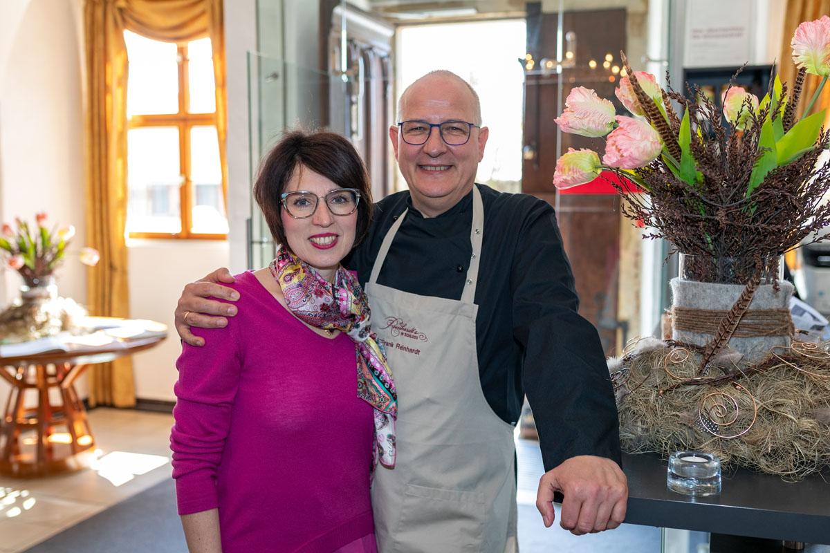 Museumscafé & Restaurant Reinhardt's im Schloss Weimarer Land Mahlzeit Frank und Kati Reinhardt