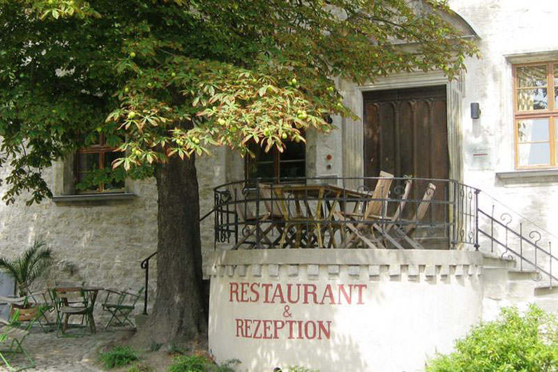 Museumscafé & Restaurant Reinhardt's im Schloss Außen