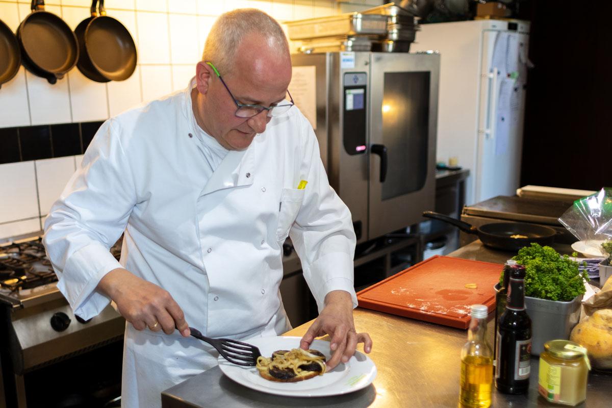Museumscafé & Restaurant Reinhardt's im Schloss Weimarer Land Mahlzeit Chefkoch Frank Reinhardt