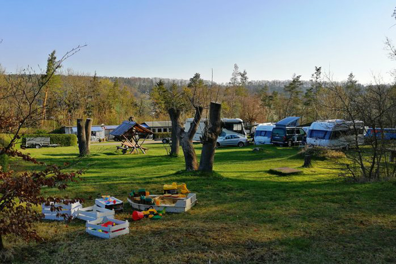 Oettern Campingplatz im Grünen