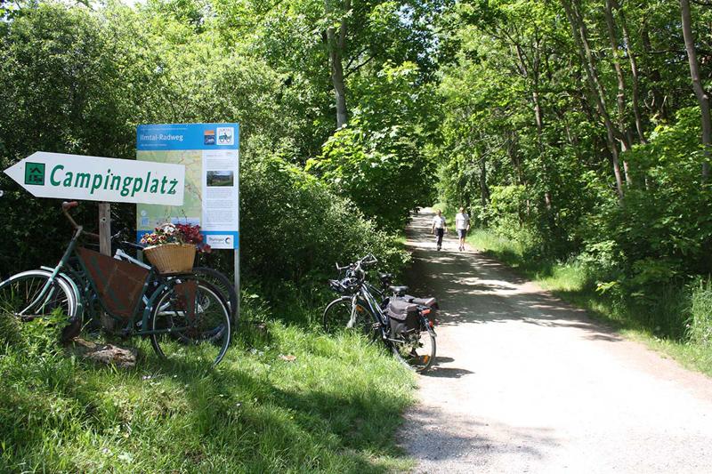 Oettern Campingplatz im Grünen Schild