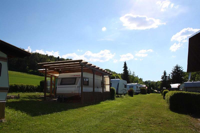 Oettern Campingplatz im Grünen Stellplatz