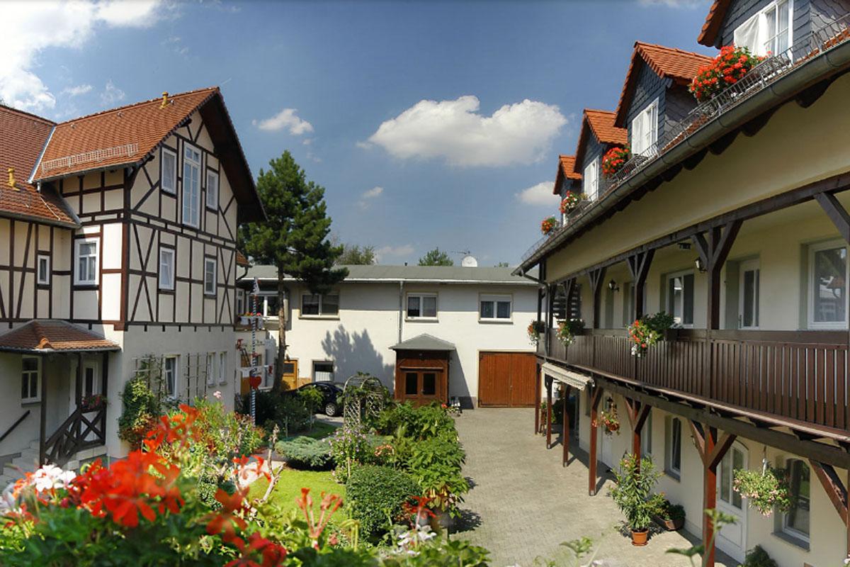 Pension Lindenhof Innenhof