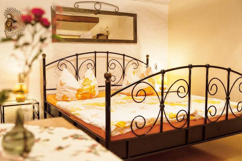 Pension vier napoleonslinden Doppelzimmer