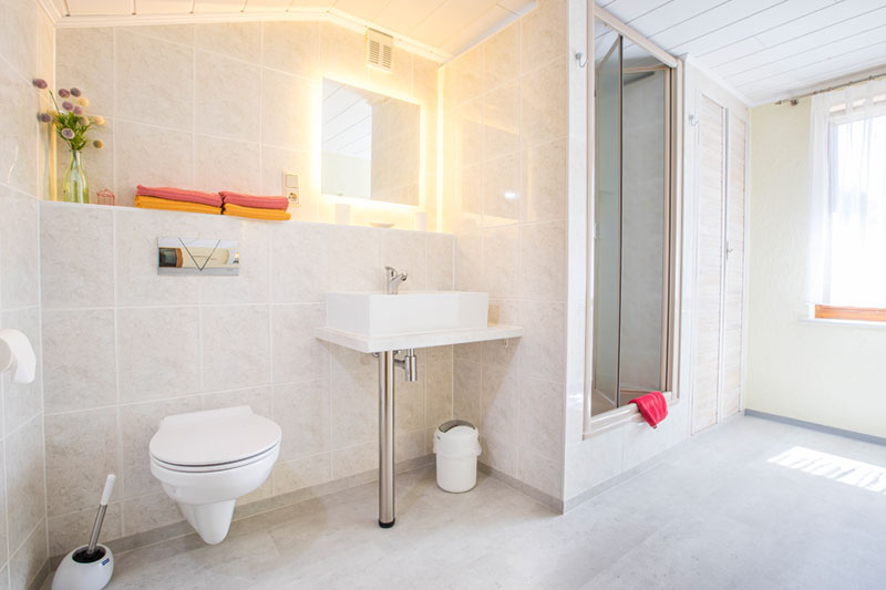 Pension Weichelt Badezimmer
