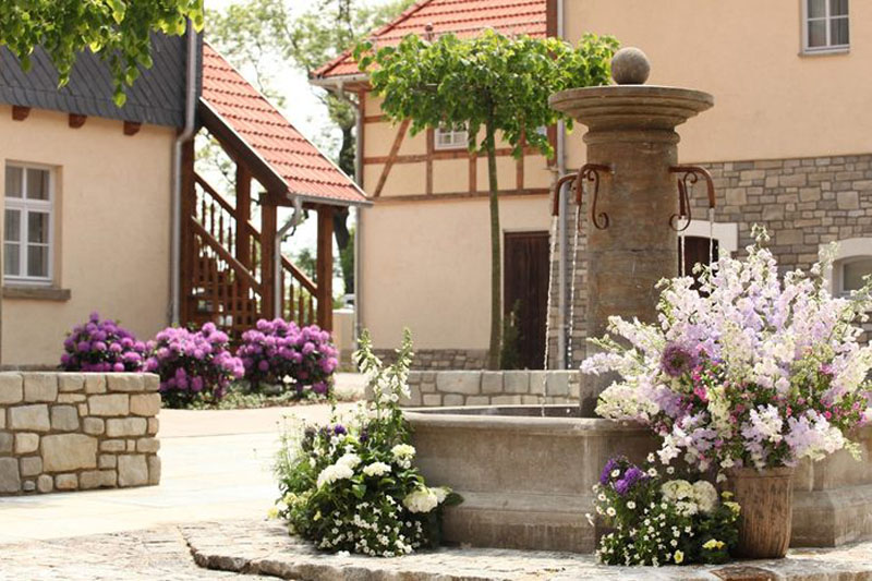Spa & Golf Resort Weimarer Land Blankenhain Innenhof