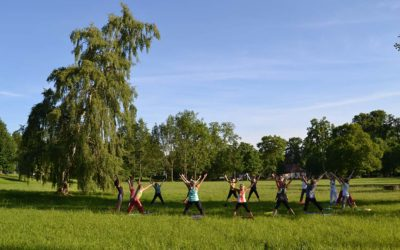 Yoga im Kurpark Bad Berka