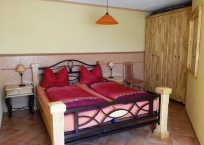 Haus Toskana in Bad Sulza Blick ins Zimmer