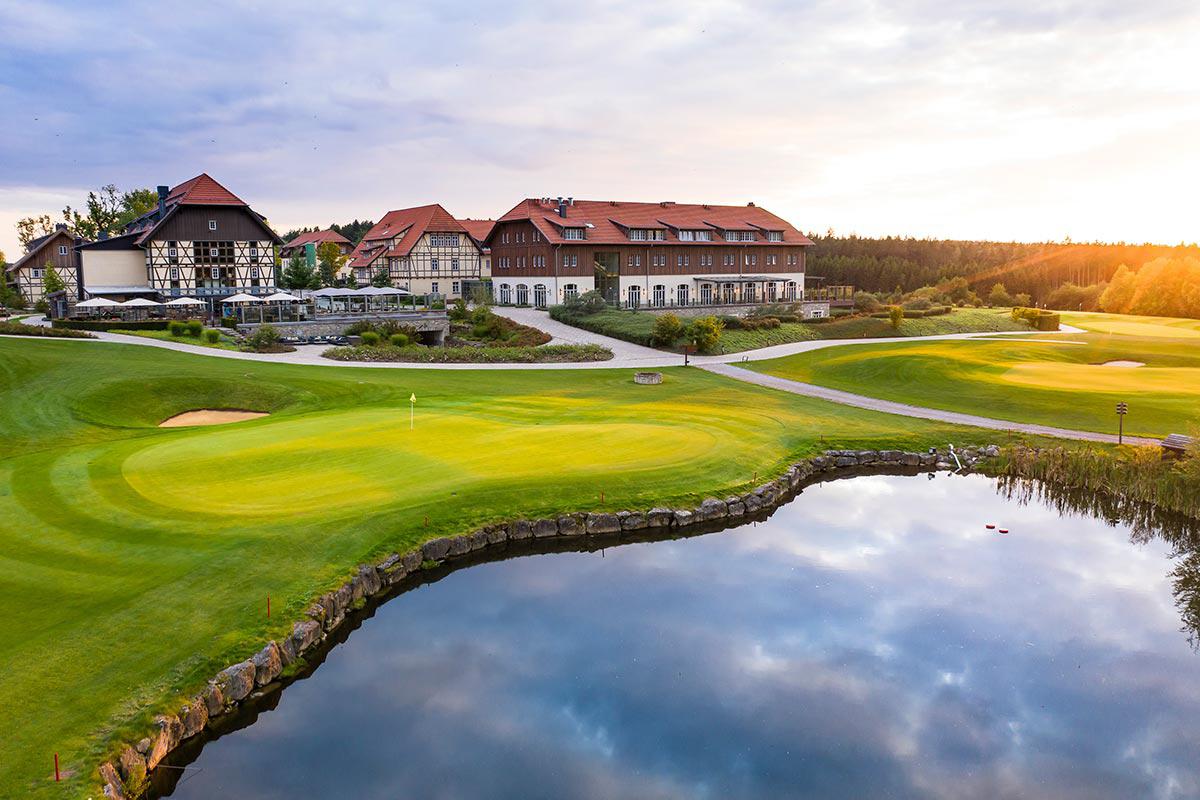 Außenansicht des Spa- und GolfResort Weimarer Land