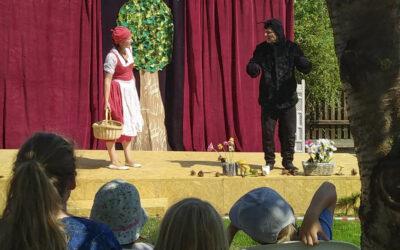 Picknickdecken-Sommertheater