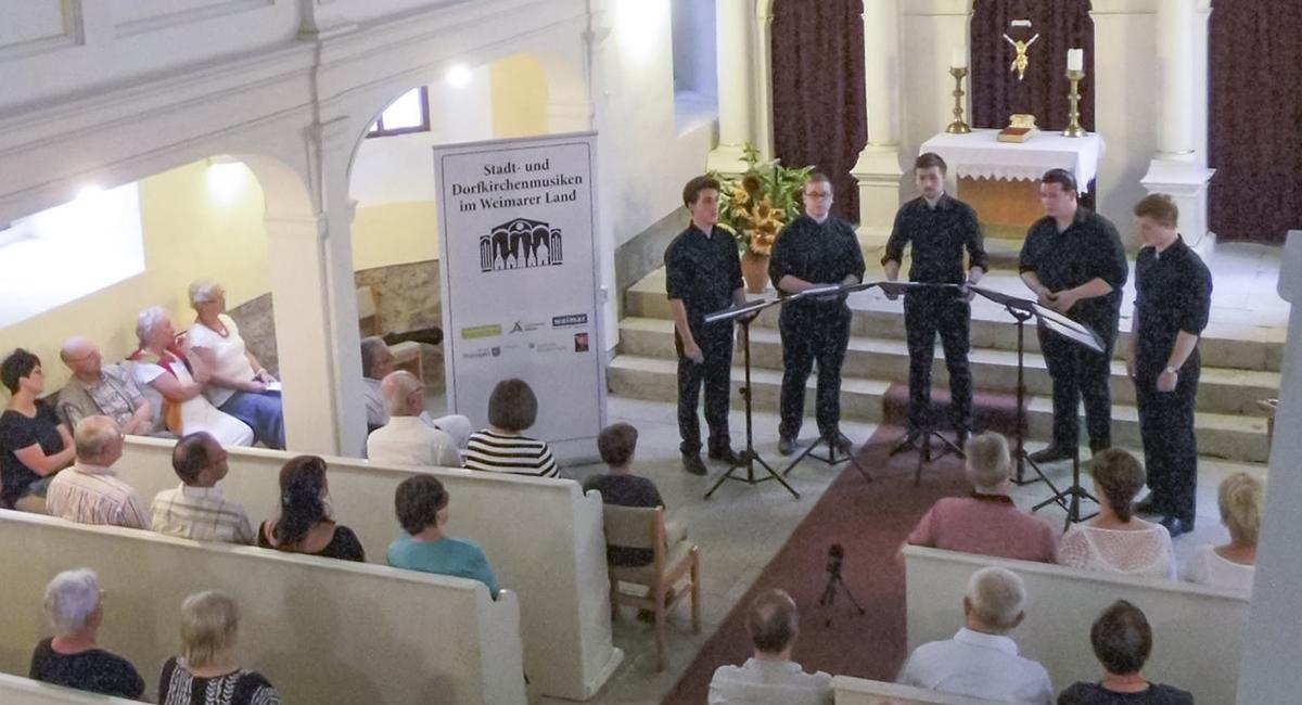 Konzert in der Kirche im Rahmen der Stadt- und Dorfkirchenmusiken