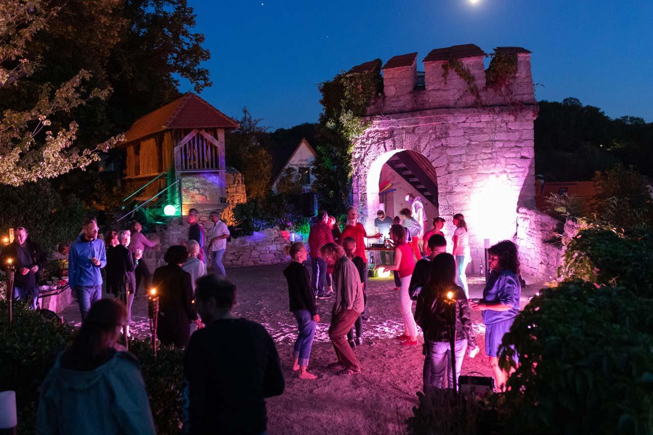Show-Tanz-Gala des Thüringer Tanzverband e. V. beim Thüringer Tanz- und Rosenfest in Kranichfeld